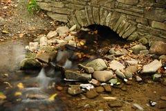 Small stone bridge Royalty Free Stock Image