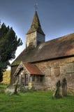 Small stone church, England Royalty Free Stock Photos