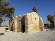 Small  stone church in the mountains of Cyprus Stock Photography