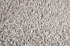 Small stone on construction site. Background texture Royalty Free Stock Image