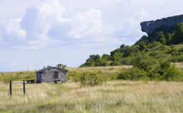 Small stone cottage.GN. Small cottage on karlso island outside gotland in Sweden.GN stock photography