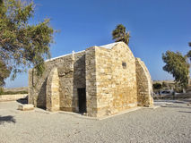 Small stone country church, Cyprus Stock Photo