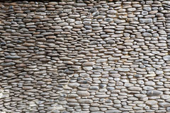 Small stone lined walls background Royalty Free Stock Photo