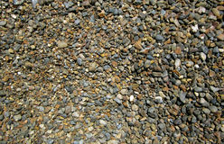 Small stones. Closeup for many little stones,small stones for buildings,colorful stones Stock Photos