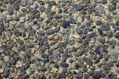 Small stones background Royalty Free Stock Photography