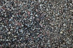 Small stones for general background stock image