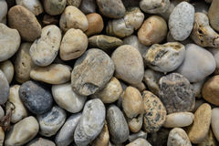 Small stones gravel texture. Naturally pebble textured background. Garden decor Stock Images