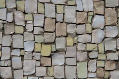 Small stones mosaic background Royalty Free Stock Photo