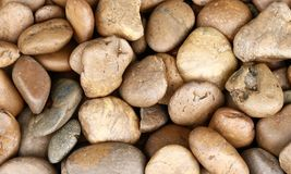 Small stones texture Royalty Free Stock Photography