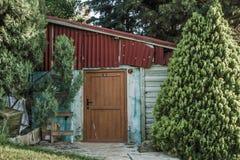 Small Storage Hut Royalty Free Stock Image