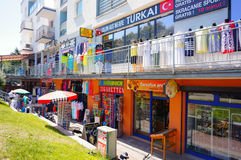 Small stores and shops Stock Photo