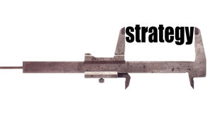 Small strategy Royalty Free Stock Image