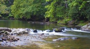 Small stream cascade Royalty Free Stock Photos