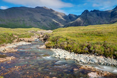 Small stream on the Isle of Skye Royalty Free Stock Photos