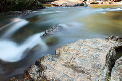 A small stream  with long exposure Royalty Free Stock Photos