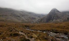 Small stream in Scotland Stock Photo