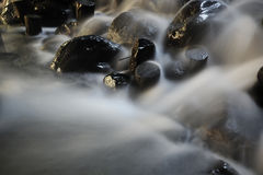 Small stream,Small Waterfall Royalty Free Stock Photography