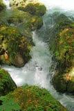 Small streams join the Duden river Royalty Free Stock Photos