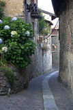 Small street. In a Italian mountain village Royalty Free Stock Image