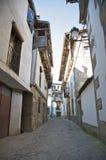 Small street at candelario Stock Image