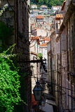 A small street of Dubrovnik Royalty Free Stock Image