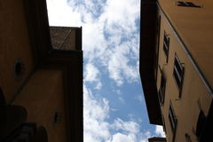 Small Street in Florenze Italy Stock Images