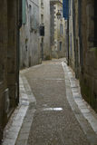Small street in france Stock Photo