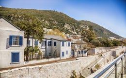 Small street in Gibraltar. Street in Gibraltar, British region in Spain Royalty Free Stock Photo