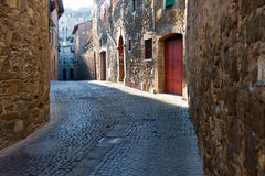 Free Small Street In Montalcino Stock Images - 26965164