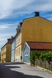 Small street in Karlskrona Stock Photography