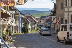 Small street in Levoca Royalty Free Stock Image