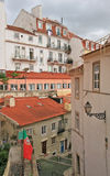 Small street of Lisbon Stock Images