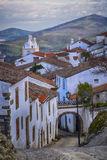 Small street of marvao Portugal Royalty Free Stock Photos