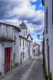 Small street of marvao Portugal Royalty Free Stock Images