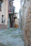 Small street. Old Town streets to pedestrian Royalty Free Stock Photography