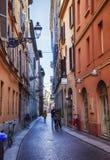 Small street in Parma, Italy, near Bolobna town Stock Photography