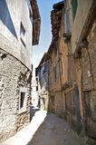 Small street at san martin Stock Images