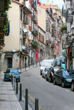 Small street in Santander Stock Image