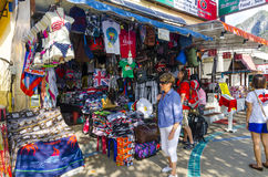 Small street shop in the Thai style. Stock Images