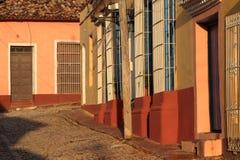 A small street of Trinidad Royalty Free Stock Photos