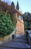 Small street in Verona Stock Photography