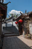 Small streets Lijiang Royalty Free Stock Photos