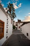 Small streets of Los Llanos de Aridane, La Palma. Canary islands, Spain Stock Photos