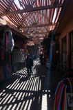 Small streets in Marrakesh medina Stock Photos