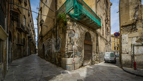 Small streets of palermo, Sicily Stock Images