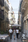 Small streets of palermo, Sicily Royalty Free Stock Image