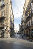 Small streets of palermo, Sicily Stock Photography