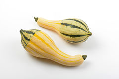 Small striped pumpkins Royalty Free Stock Photos