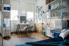 Small studio in flat Stock Photo