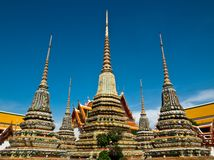 Small stupa at wat pho Stock Photo